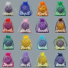 25 Pcs Organza Wedding Xmas Party Favor Gift Candy Bags Jewellery Pouches Favour