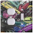 Junk Yard Car Pile - Light Switch Covers Home Decor Outlet