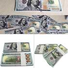 100 Bills Full Print Best Movie Prop Play Fake Money Joke Prank Magic Props >o