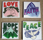 Sets of Small Word Magnets-Pick Your Theme-Love, Peace