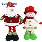 Christmas Plush  Xmas Decoration Ornament Ornaments Snowman Decor Santa Gift New