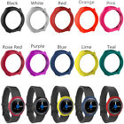 Silicone Rubber Case Frame Cover Shell for Samsung Galaxy Gear S2/SM-R720/SM-R73