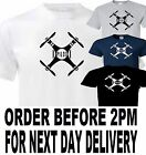 drone quad copter hobby t shirt all sizes up to 5xl