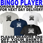 bingo t-shirt add name to order for printing