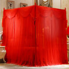 Wedding mosquito nets Mosquito net & frame Summer bed netting Bed curtain canopy image