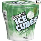 4 Pack Ice Breakers Ice Cubes ~ Sugar Free Spearmint Peppermint Bubble Breeze
