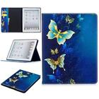 For Apple iPad Series  Color Painting Design Magnetic PU Leather Case Cover KF