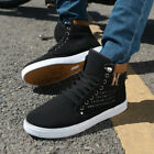 Lace-up Athletic Running Shoes Men Casual High Top Sport Sneakers Fashion Hot