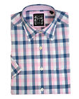 Laine Taylor cotton check Short sleeved shirt - 60137