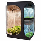 "TopoGrow LODGE 36""x24""x53"" 48""x36""x72"" Grow Tent & Propagation 2-Tiered Space"