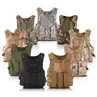 Tactical Military Vest Police Airsoft Molle Combat Assault Plate Carrier Vest