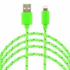 4x 6ft long USB Charging Cable For Apple iPhone 6s Plus 6 7 Data Sync Charger