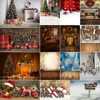 US NEW 3X5ft/5X7ft Christmas Photography Backdrop Studio Background Gifts Decor