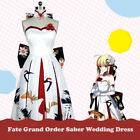 Fate Grand Order Fate/stay Night Saber New Year Ceremony Cranes Wedding Dress