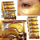 Crystal Collagen 24k Gold Under Eye Gel Facial Mask Anti Aging Wrinkle Remover