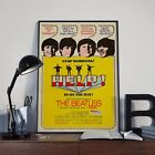 The Beatles Help Lennon Ringo Mccartney Movie Film Poster Print Picture A3 A4