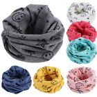 Внешний вид - Kid Baby Scarf Winter Soft Cotton Infinity Neck Warmer Snood Scarves Bandana Bib