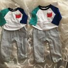 Baby Gap Colorblock pocket double layer one-piece 3-6/6-12 Month Msrp$34.95