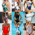 RXRXCOCO Womens One-piece Swimsuit Swimwear Push Up Monokini Bathing Suit Bikini