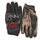 Spidi Honda Adventure Hard Atom Motorcycle Gloves Black Red Africa Twin New