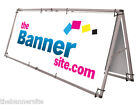 SUPER SIZE 3M / 10ft up to 6M / 20ft Exterior Aluminium BANNER A FRAME STAND