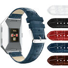 GENUINE ALLIGATOR CROCODILE LEATHER SKIN WATCH STRAPS BANDS FOR FITBIT IONIC