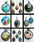 PINOCCHIO INCREDIBLES INSIDE OUT MONSTERS INC ZOOTROPOLIS CHARM NECKLACE DISNEY