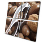 Winter Vegetables Food Christmas MULTI CANVAS WALL ART Picture Print