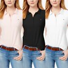 Tommy Hilfiger women's Solid Core Short Sleeve Polo Shirt