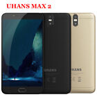 Unlocked UHANS Max 2 Android 6.44'' 4G Smartphone MTK6750T OctaCore 4+64GB 4*Cam