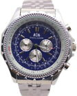 Brand New Black Blue Automatic Mechanical Watch Men Sport Drive Big Watches 46mm