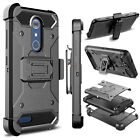 For ZTE Blade Spark / Z971 Phone Case Hybrid Kickstand Holster Armor Hard Cover