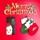 Merry Christmas Santa Elk Lovely Cartoon Case Cover For iPhoneX 8 7plus 6S 6plus