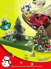 1PC Christmas Ball Plastic Mini RC Radio Remote Control Racing Car Toy Xmas Gift
