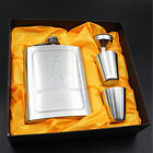 CA New Hot Hip Flask Metal Portable Flagon Bottle Whiskey Hip Flask Men's Gift