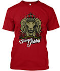 Mens Yeshua Dread Lion - Reggae Rock Steady & Ska For Hanes Tagless Tee T-Shirt