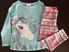 NWT Gymboree Girl Enchanted Winter Unicorn Tee & Leggings Outfit 4 5 6 7 8 10