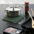 2 x Pot Coasters Stand Trivets Silicone Heat-Resistant Oven Mitts Potholder