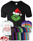 Humbug Grinch Mens Ringspun Funny Christmas Casual Wear Xmas Present Top T Shirt