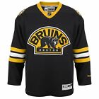 New Men's REEBOK NHL PREMIER JERSEY Black Alternate Boston Bruins $47.99 USD on eBay