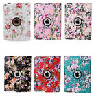 """US For iPad Mini Air 1 2 3 4 Pro 9.7"""" 360 Rotating Case Smart Cover Swivel Stand"""