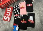 Cute Funny Supreme Disney Pattern Plastic Hard Phone Case Back Cover For iPhone