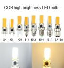 COB G4/G8/G9/E11/E12/E14/E17/BA15d 110/220V 7W Led Dimmable Lamp Pure White/Warm