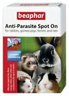 Beaphar Anti-Parasite Spot On - Wormer Lice Mites - Rodents Small Animals Birds