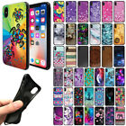 For Apple iPhone X / XS 5.8 inch Flexible TPU Black Silicone Soft Gel Cover Case
