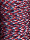 """3/4 """" MONKEY FIST PARACORD KEYCHAIN STEEL BALL(U-PIC THE COLOR)!MADE IN THE USA!"""