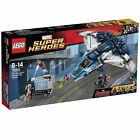 NEW LEGO MARVEL THE AVENGERS QUINJET CITY CHASE VISION IRONMAN 76032 BLACK WIDOW