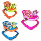 Baby Walker First Steps Activity Bouncer Musical Toy Push Along Ride On Frog Bar