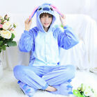 Kids Adults Animal Kigurumi Pajamas Cosplay Sleepwear Costumes One Piece Unisex