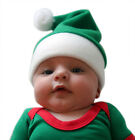 Christmas Baby Hats - Elf and Santa - Green / Red - Available In all Baby Sizes